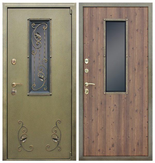 Входная дверь с ковкой СП401