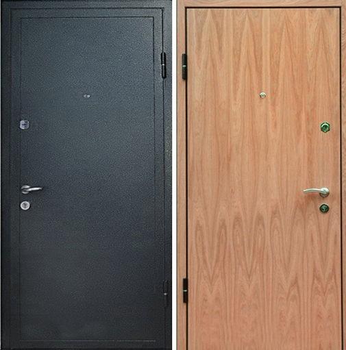 Входная металлическая дверь порошковое напыление + ламинат СП007