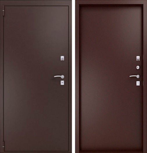 Входная металлическая дверь порошковое напыление СП017