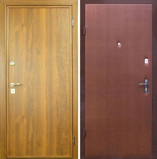 Входная металлическая дверь ламинат + винилискожа СП299