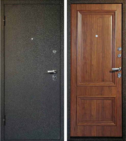 Входная металлическая дверь порошковое напыление + МДФ СП020
