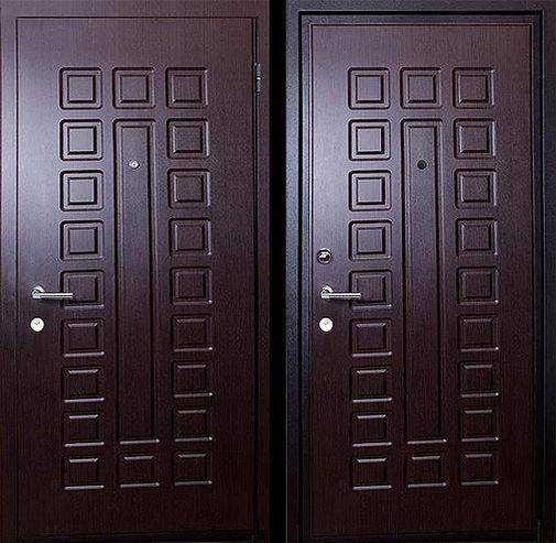 Входная металлическая дверь МДФ (ПВХ) СП064