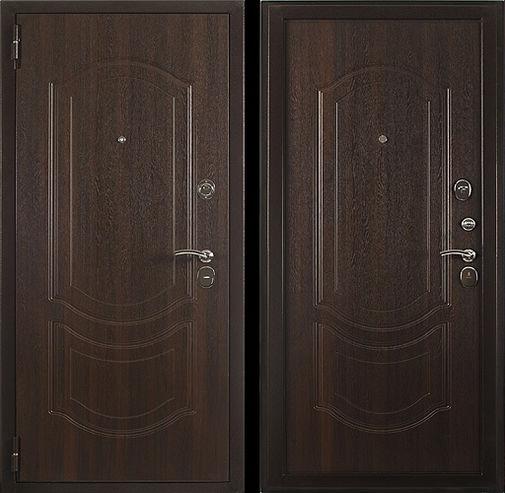 Входная металлическая дверь МДФ (ПВХ) СП051