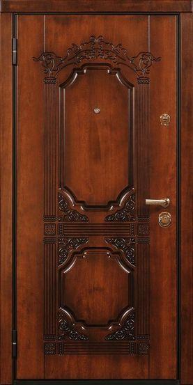 Входная металлическая дверь МДФ винорит СП072